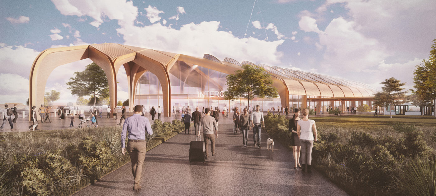 Design vision for Interchange station in Solihull.