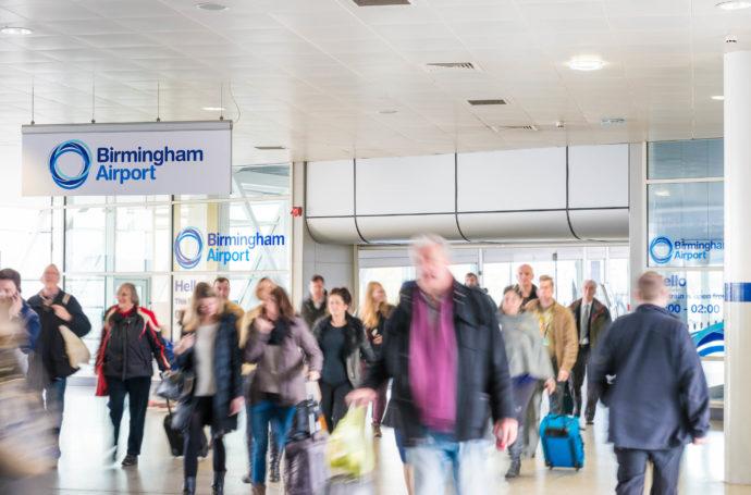 Birmingham Airport interior