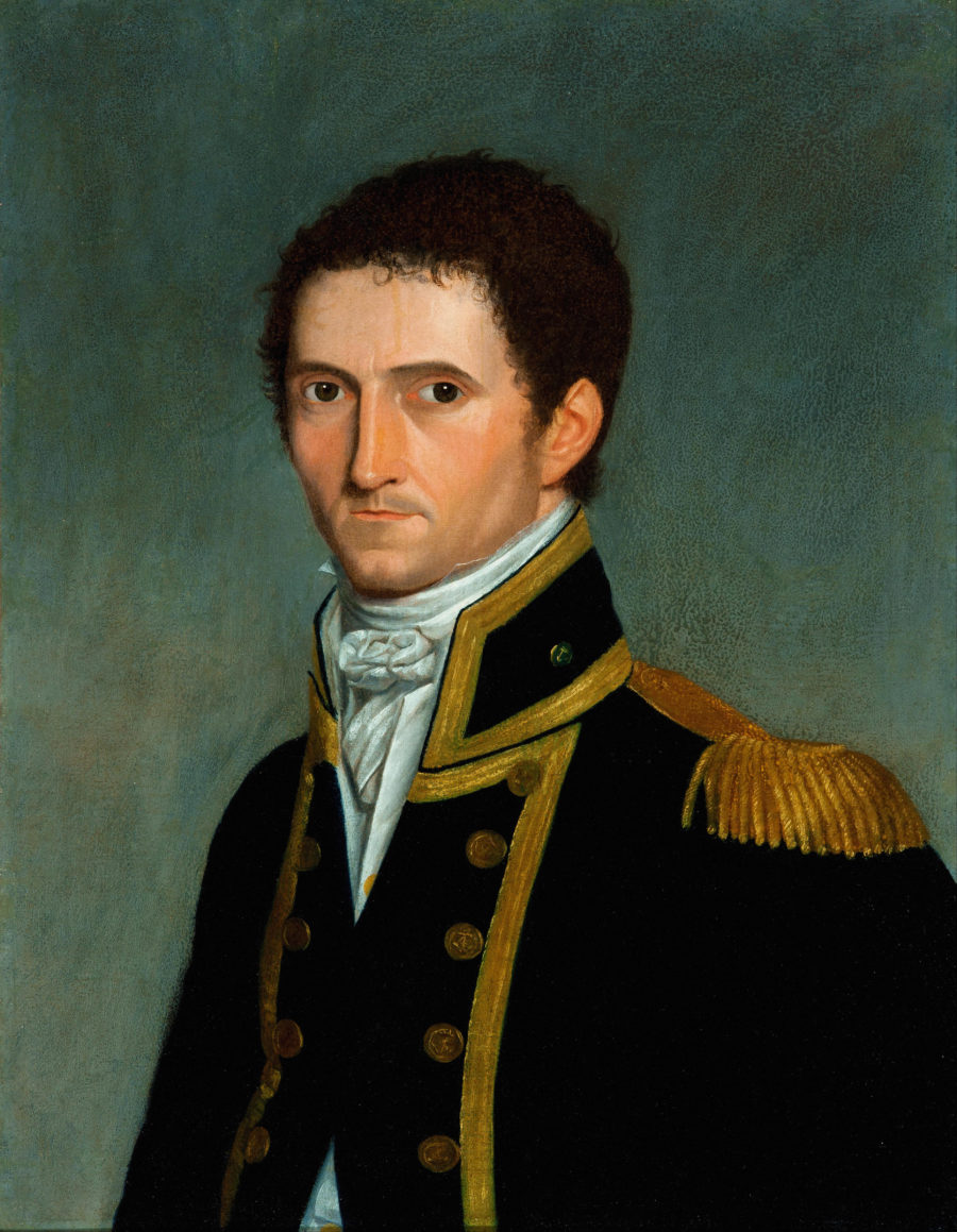 Captain Matthew Flinders portrait