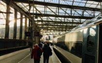 Glasgow Central station platform