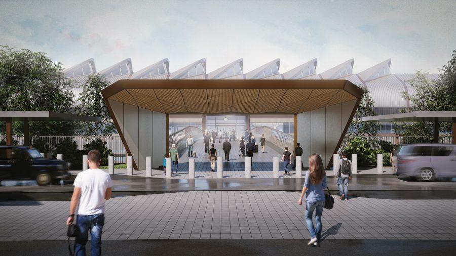 HS2 Interchange station, artist's impression