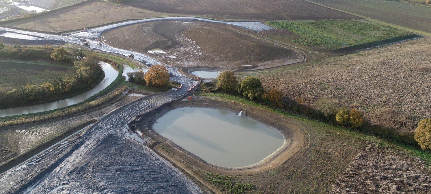 Heave monitoring site, Southam, Warwickshire