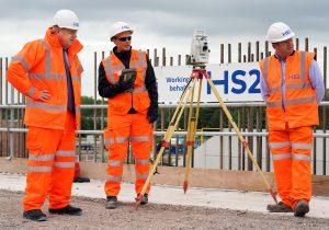 Prime Minister Boris Johnson visits one of the largest HS2 construction sites, the HS2 Interchange Site, Birmingham.