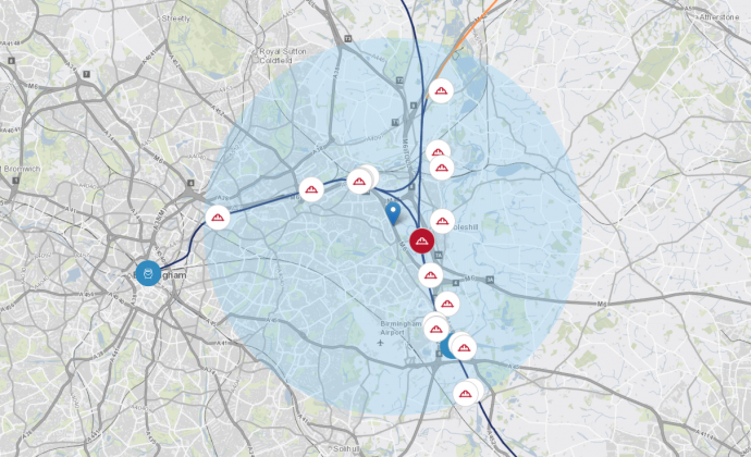 Use our interactive map to see when and where HS2 works are taking place in your area