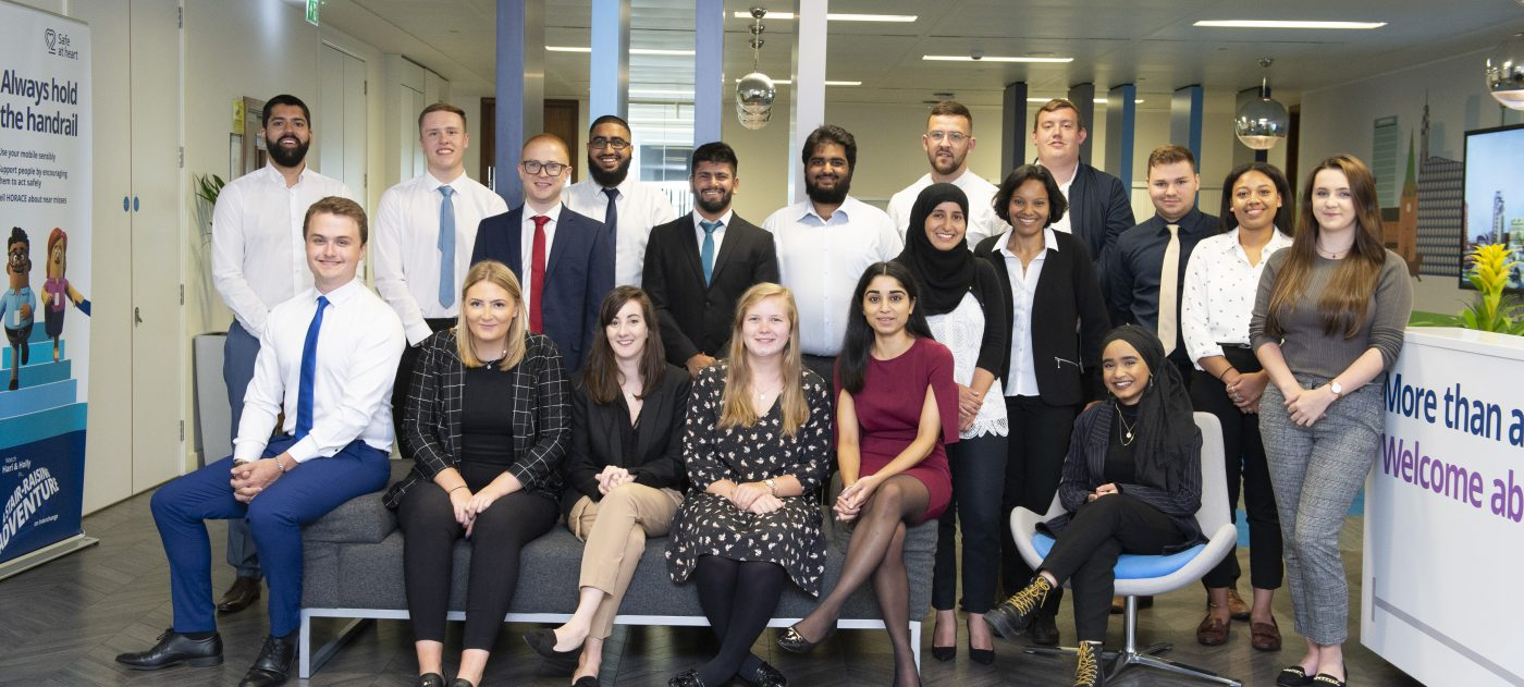 Apprentices 2019 induction at Snow Hill Office, 30 August 2019