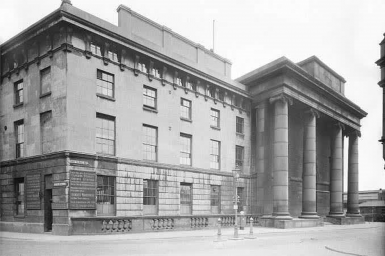 Old Curzon Street station building
